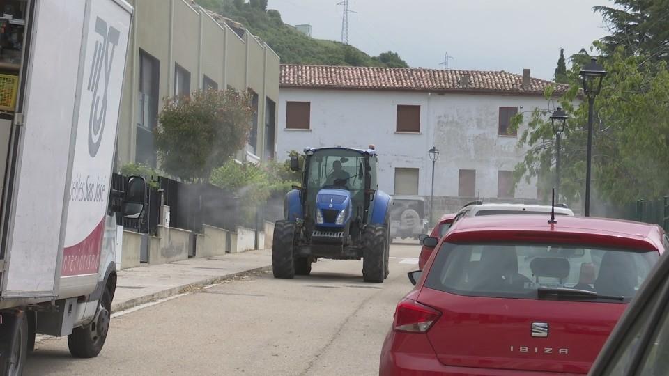 Yesa, Liédena y Rocaforte desinfectan sus calles