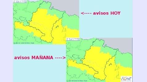 Navarra sigue bajo la niebla y se activa la alerta amarilla