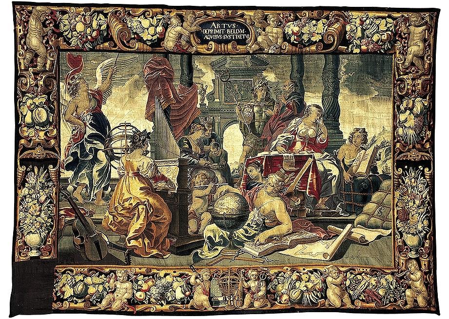 El robo de los tapices de Castrojeriz tuvo resonancias internacionales.
