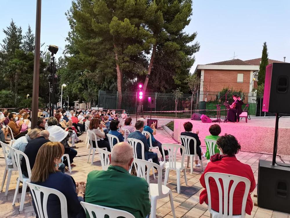 Silvia Nogales llena de sensibilidad 'Los lunes del Arco'