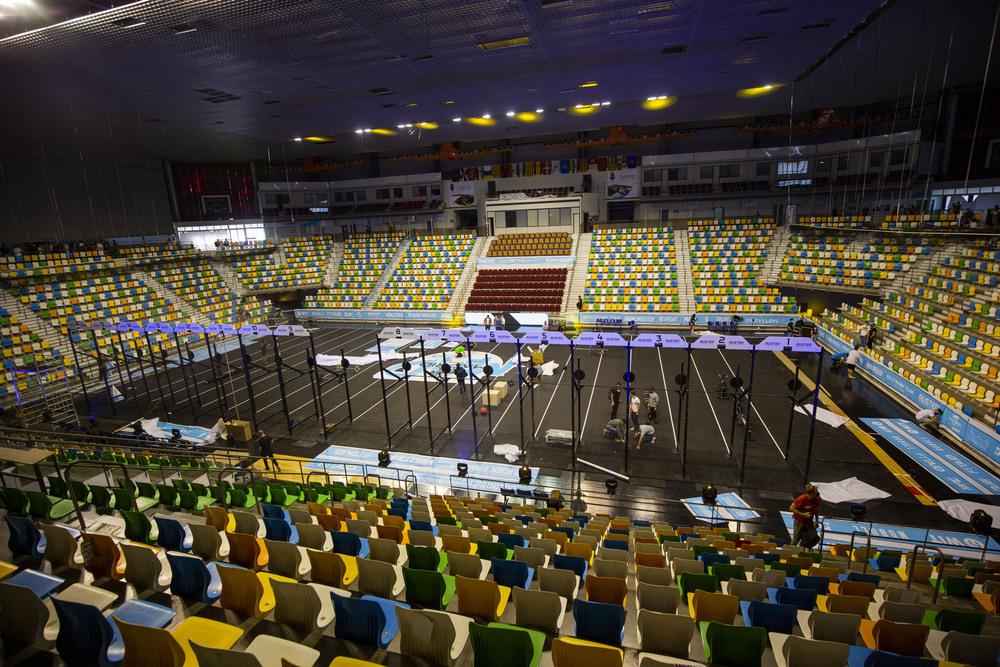 Panorámica del pabellón Quijote Arena.