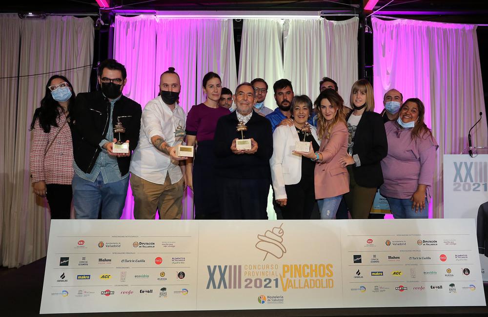 Entrega de premios del XXIII Concurso Provincial de Pinchos de Valladolid