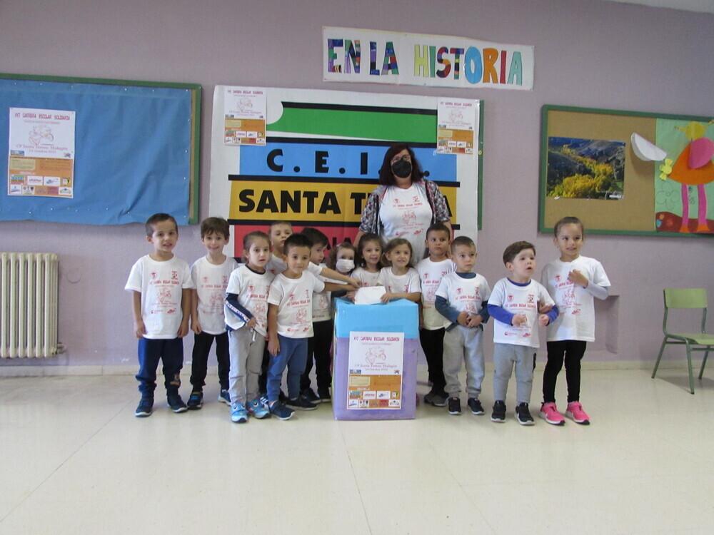 Un grupo de alumnos, en una de las actividades.