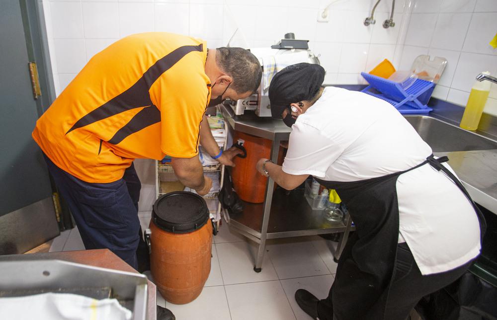 El aceite doméstico y hostelero para reciclar sube un 20%