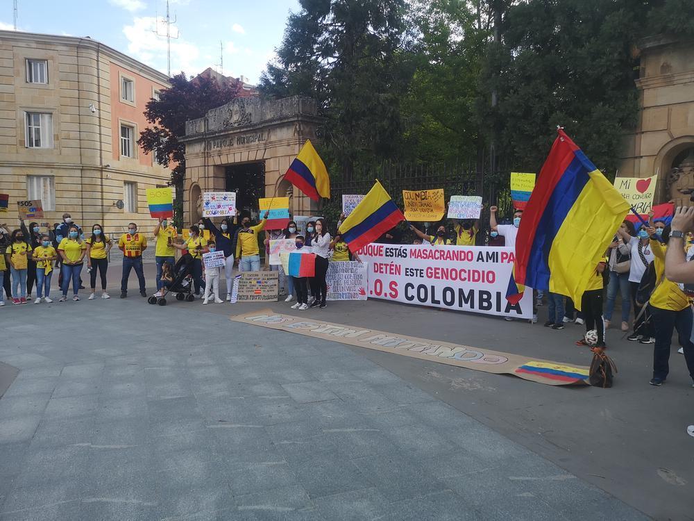 El pueblo colombiano de Soria lanza un SOS por su país