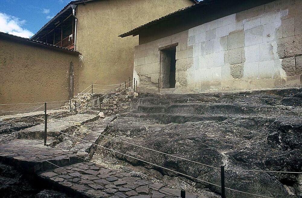 Prisión de Atahualpa, en Cajamarca, donde los españoles capturaron al Inca en 1532.