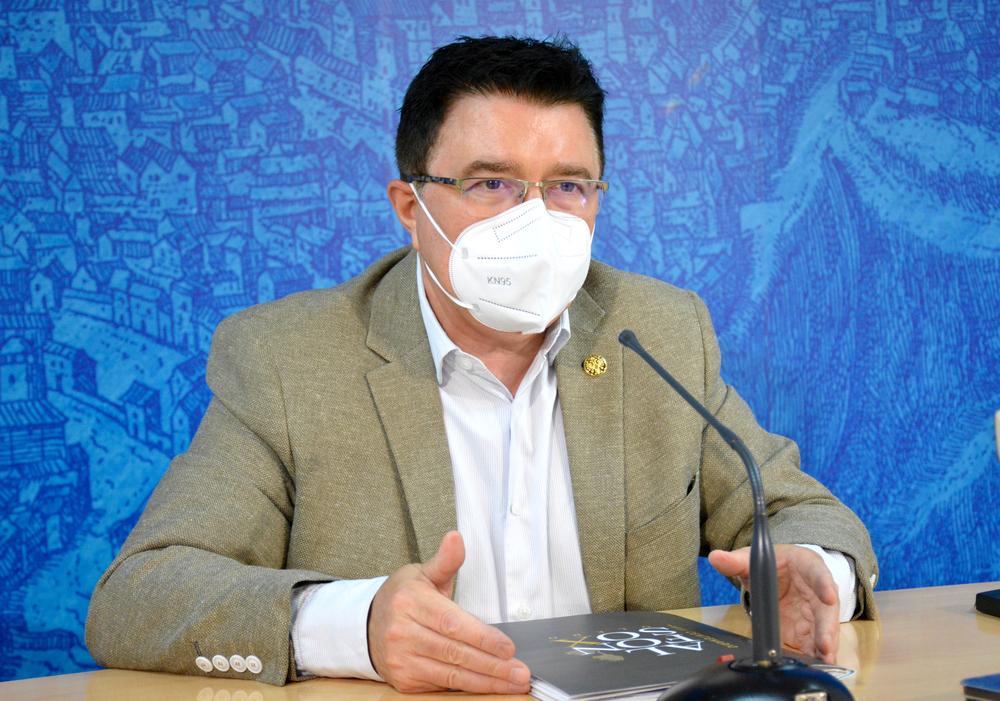 Teo García, concejal de Educación, Culura y Patrimonio Histórico.
