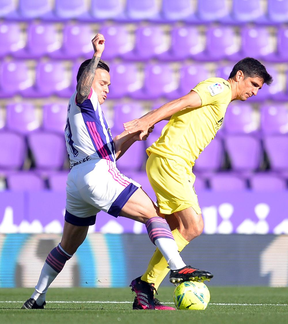 Imágenes del Real Valladolid-Villarreal.