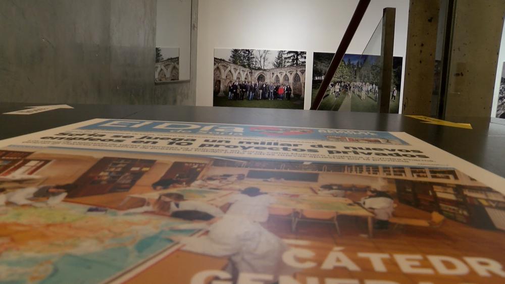 Una visita a la exposición fotográfica de 'El Día de Soria'