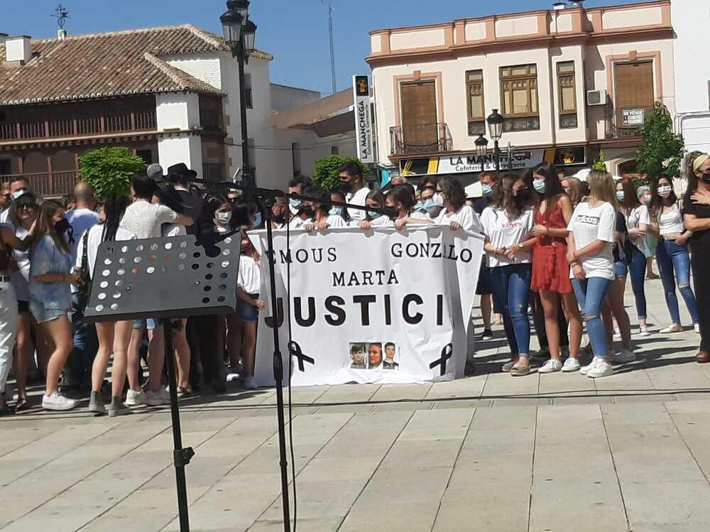 Piden justicia por las víctimas del accidente de Argamasilla