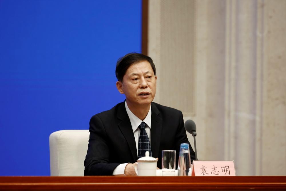 El subdirector de la Comisión Nacional de Salud china, Zeng Yixin