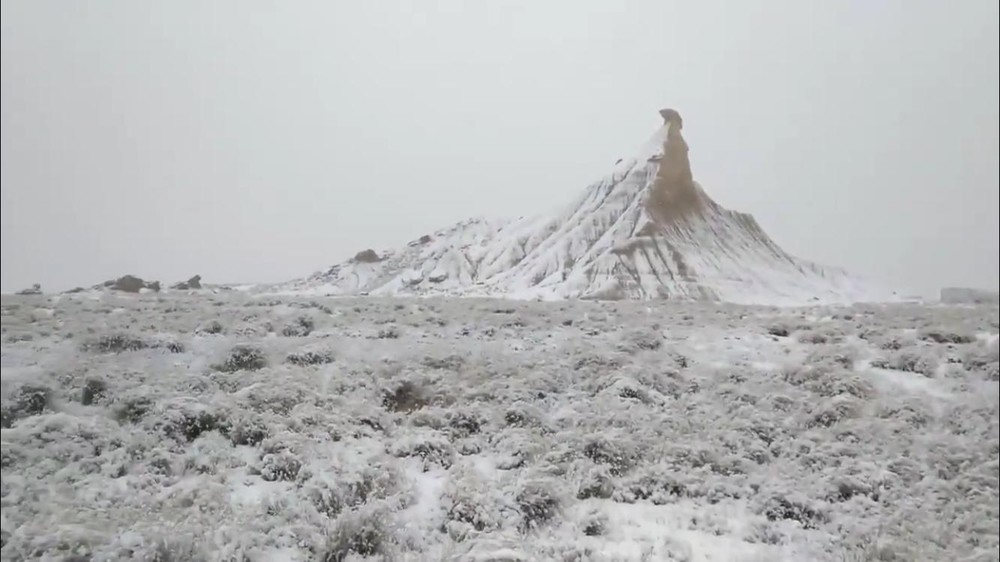 Las Bardenas Reales, un desierto blanco