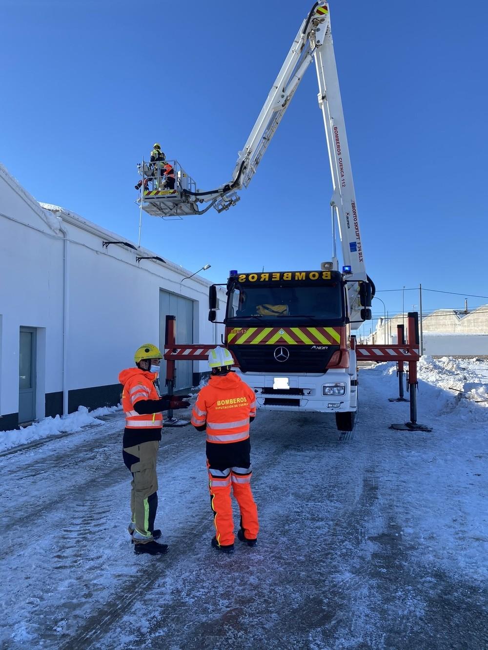 Los bomberos de la Diputación realizaron 112 intervenciones