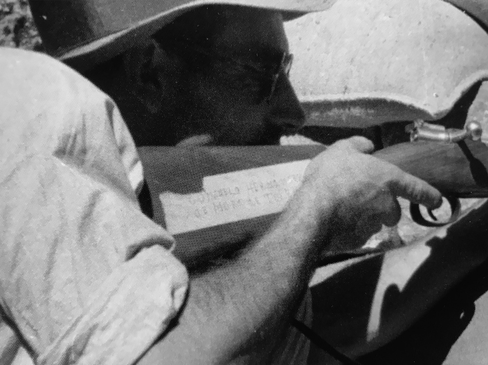 El fusil del moracho Gonzalo Hernández
