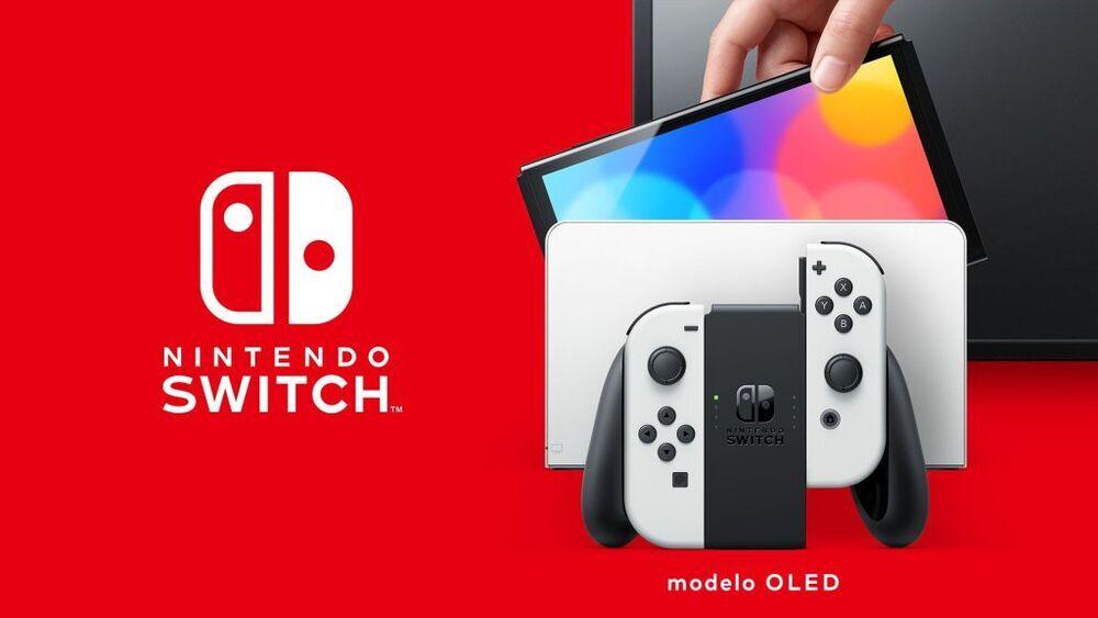 Nintendo lanzará la nueva Switch con pantalla OLED