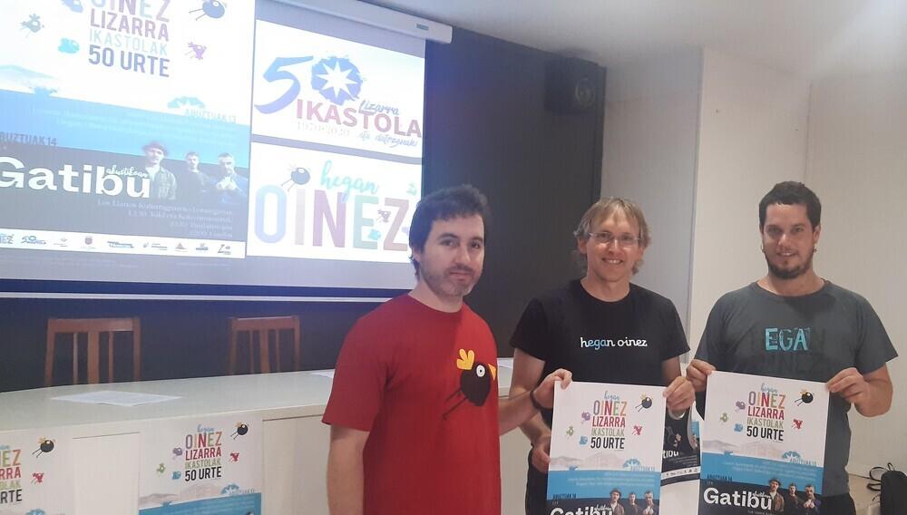Lizarra Ikastola celebra sus 50 años con el Nafarroa Oinez