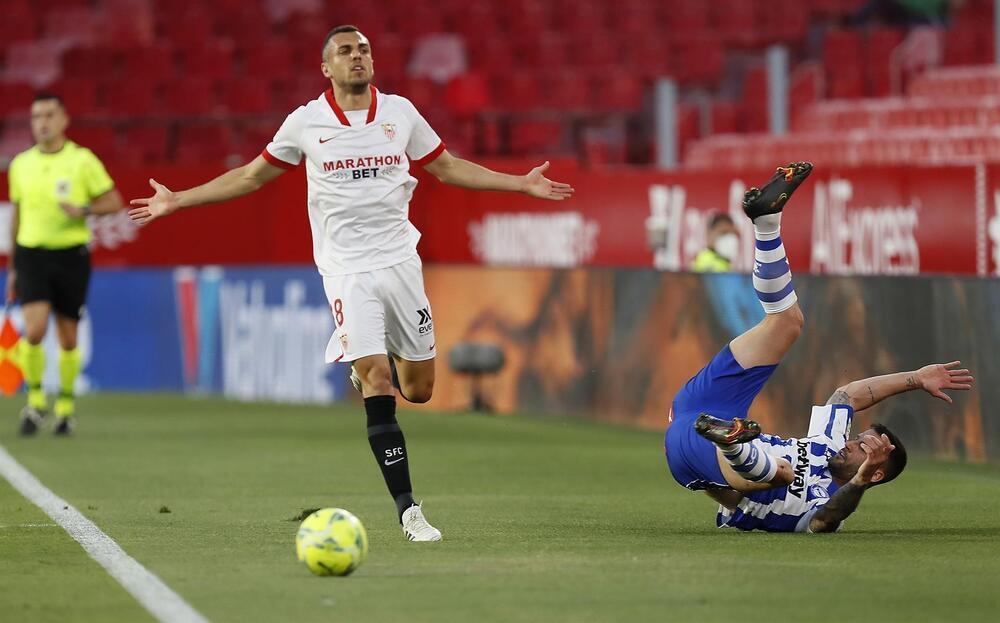 El Papu Gómez le da lustre a un año excepcional del Sevilla