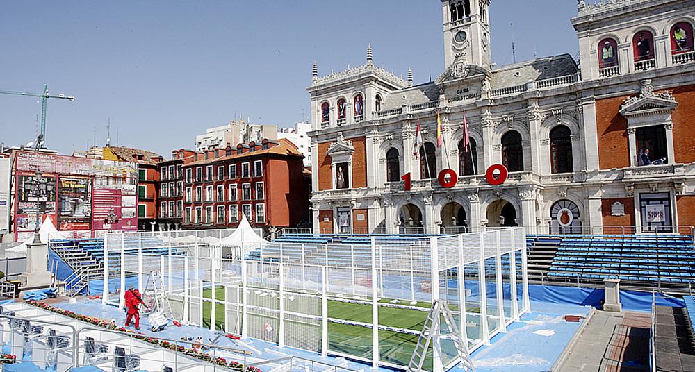 Primera edición en la Plaza Mayor, en 2008.