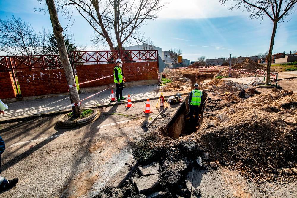 Un escape de gas obliga a desalojar parte del IES Atenea
