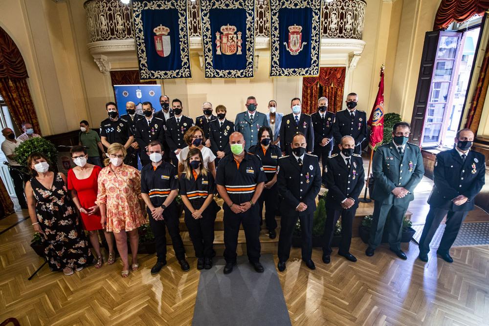 La Policía Local de Ciudad Real, entrega sus medallas