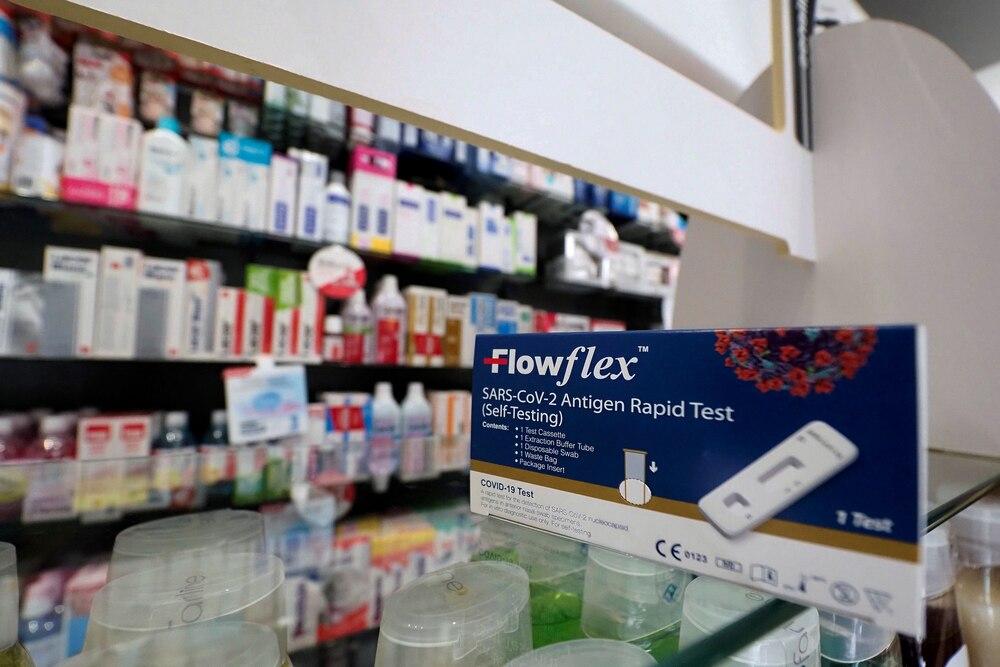Venta de los test de autodiagnóstico de la covid-19 que se venden sin receta.