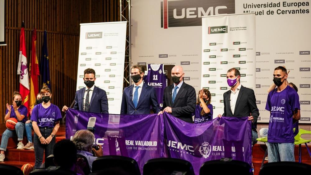 UEMC y Real Valladolid Baloncesto sellan su unión.