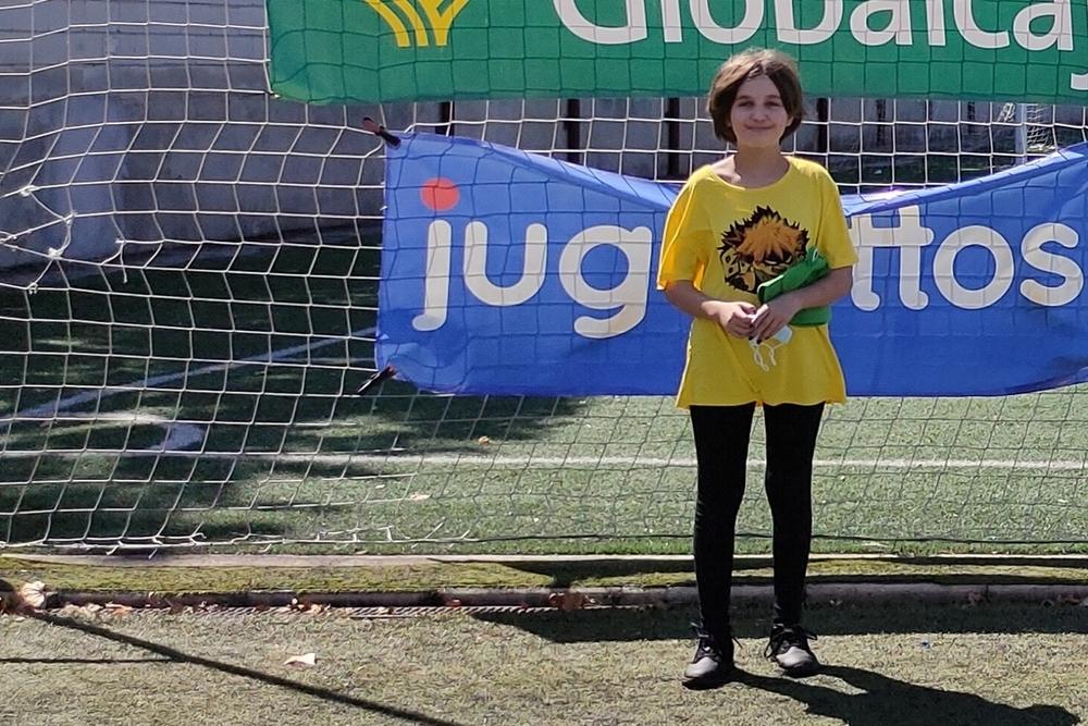 Celia Ramírez, campeona menores de 14 años.