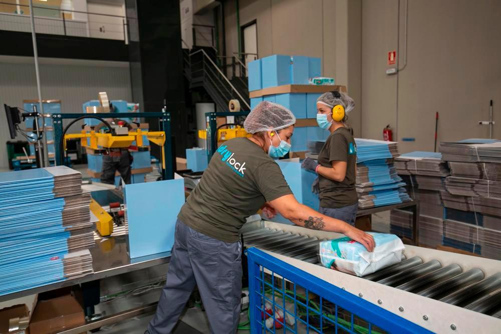 Drylock cuenta con terminar las obras de ampliación de la fábrica en primavera y, si recibe el apoyo de la UE, cree que se asegurará alcanzar la velocidad de crecimiento prevista, por lo que seguiría aumentando plantilla.