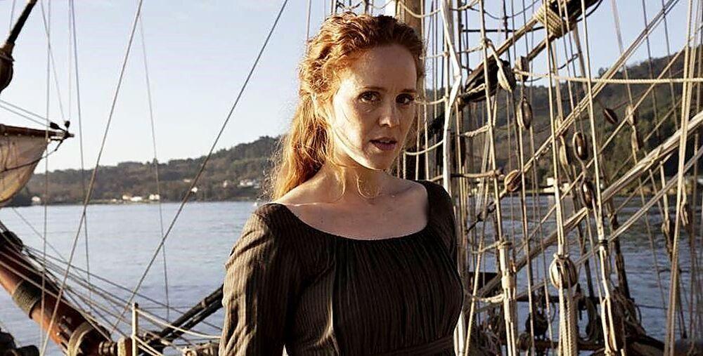 La actriz María Castro dio vida a Isabel Zendal en la serie de TVE dirigida por Miguel Bardem basada en la novela 'Ángeles Custodios'.
