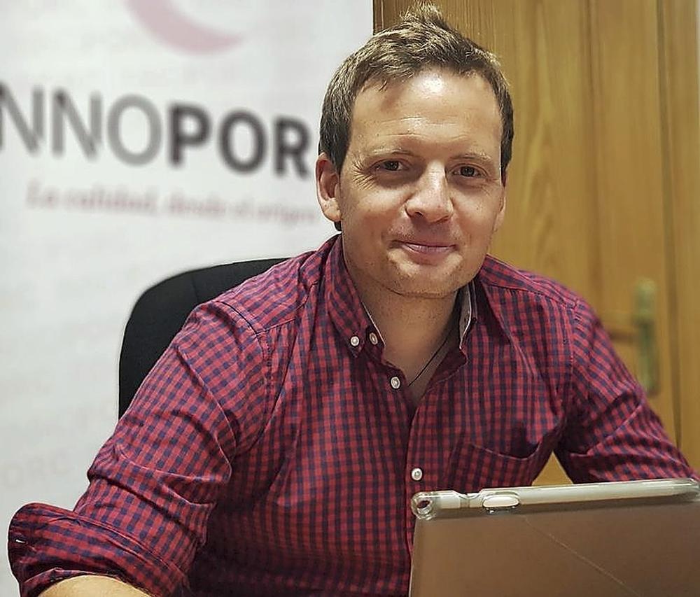 Miguel Antona, director general de Innoporc: «Si no conseguimos que estos fondos europeos se traduzcan en la generación de nuevos proyectos para Segovia como los que exige el siglo XXI, sostenibles e innovadores, desde luego será un fracaso».