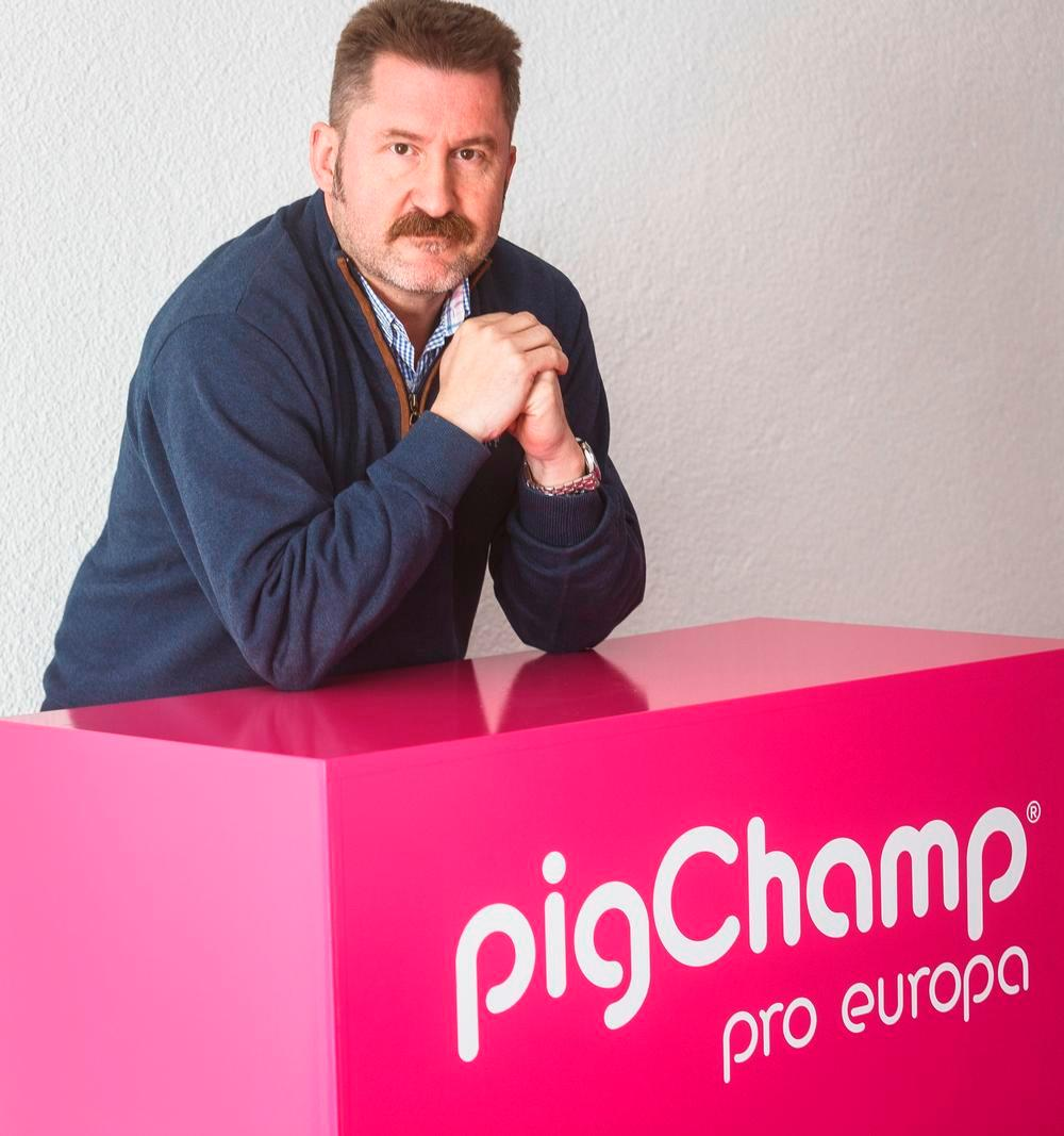 Carlos Piñeiro, CEO de Pigchamp: «La transformación digital ya estaba en marcha, pero esta situación tan terrible lo que puede hacer es ayudar a que vaya más rápido y se haga de manera más estructurada con los fondos que pueden llegar».