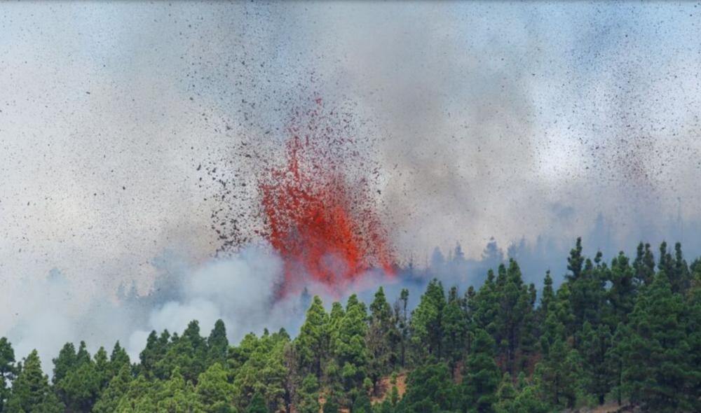 De Burgui a La Palma, en el foco del volcán