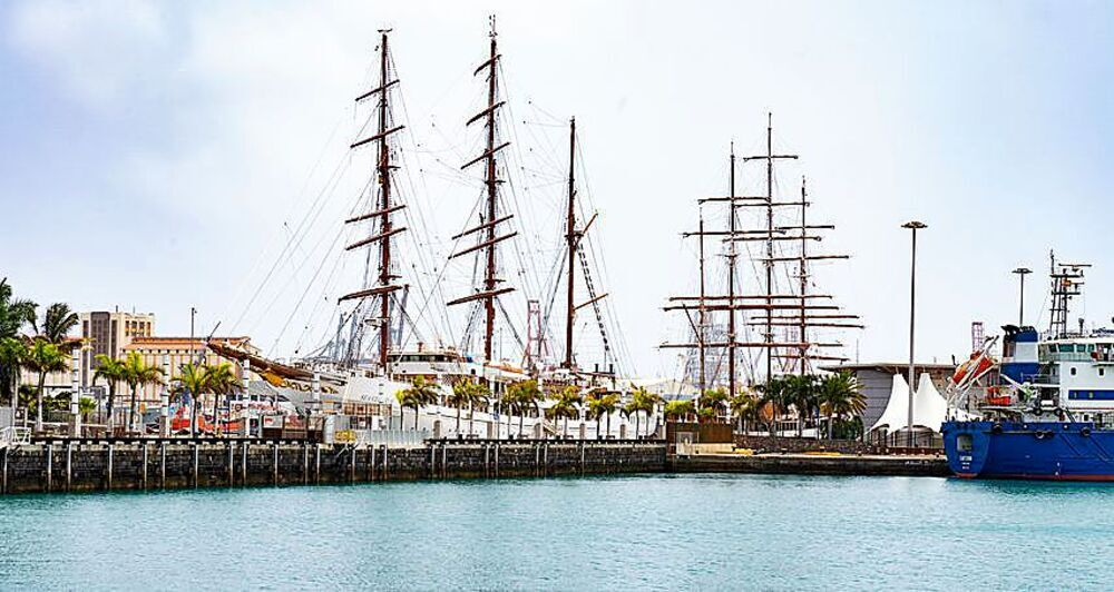 Desde el muelle de Santa Catalina zarpaban los barcos hacia América