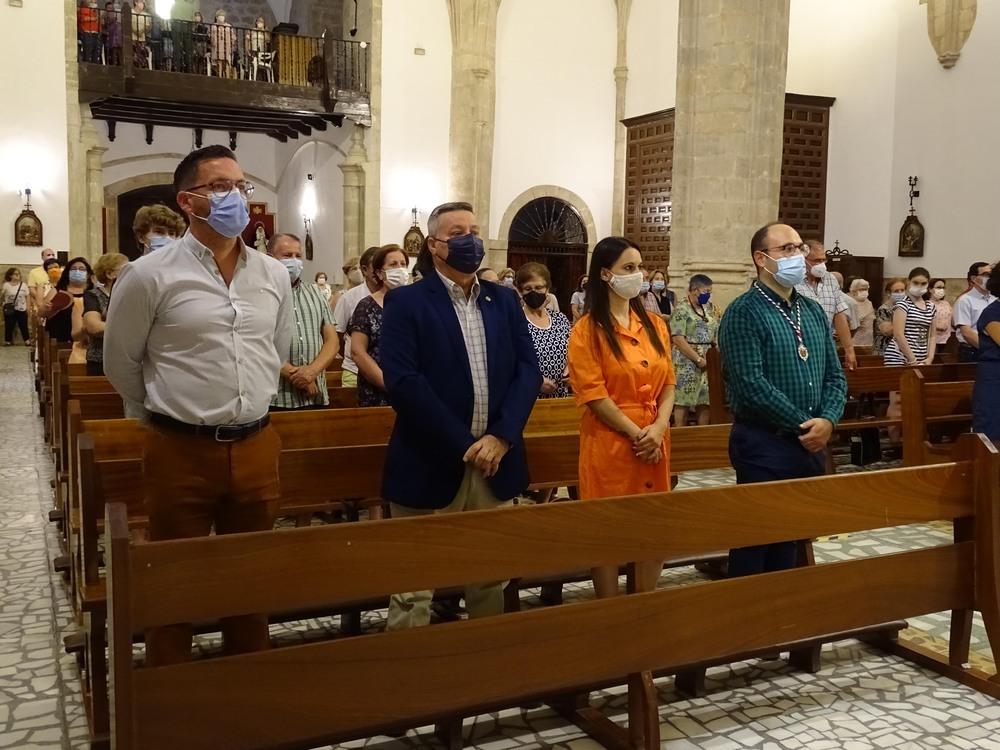 Quintanar honra los Santos Abuelos: San Joaquín y Santa Ana