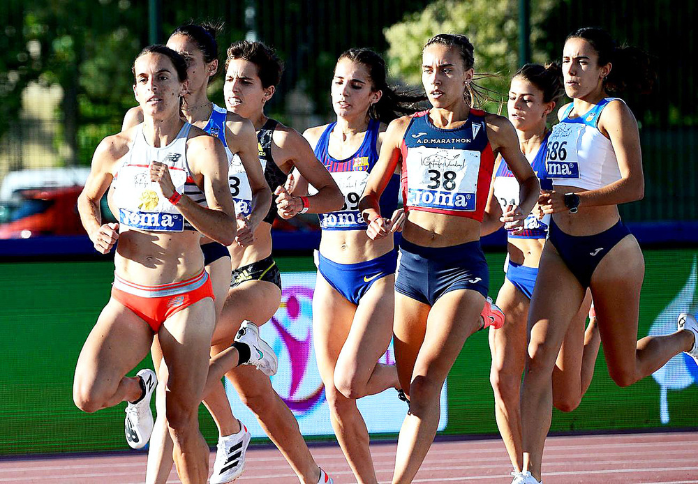 Marta García, quinta en los 1.500 metros