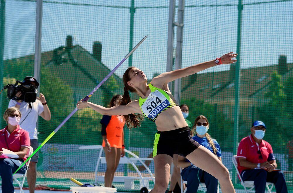 Paula Redondo, novena en el lanzamiento de jabalina