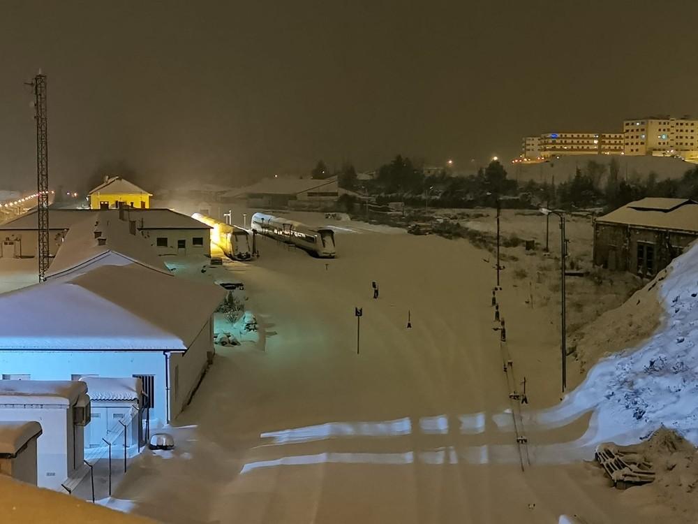 Soria encadena una nevada de más de 24 horas ininterrumpidas