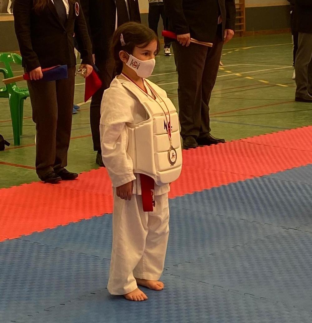 Lucía Carrasco, del Karate Almagro.