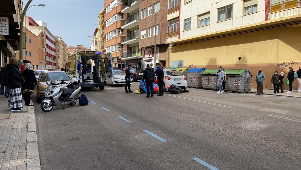 Atropello en la avenida Valladolid