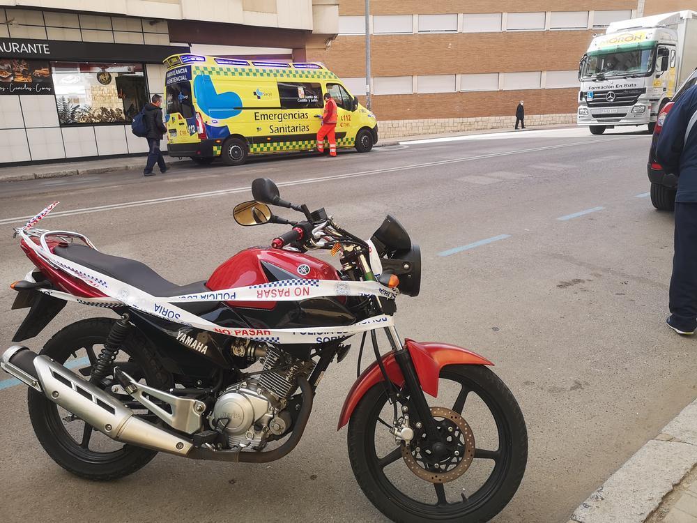 #VIDEO Accidente de moto en la avenida Valladolid