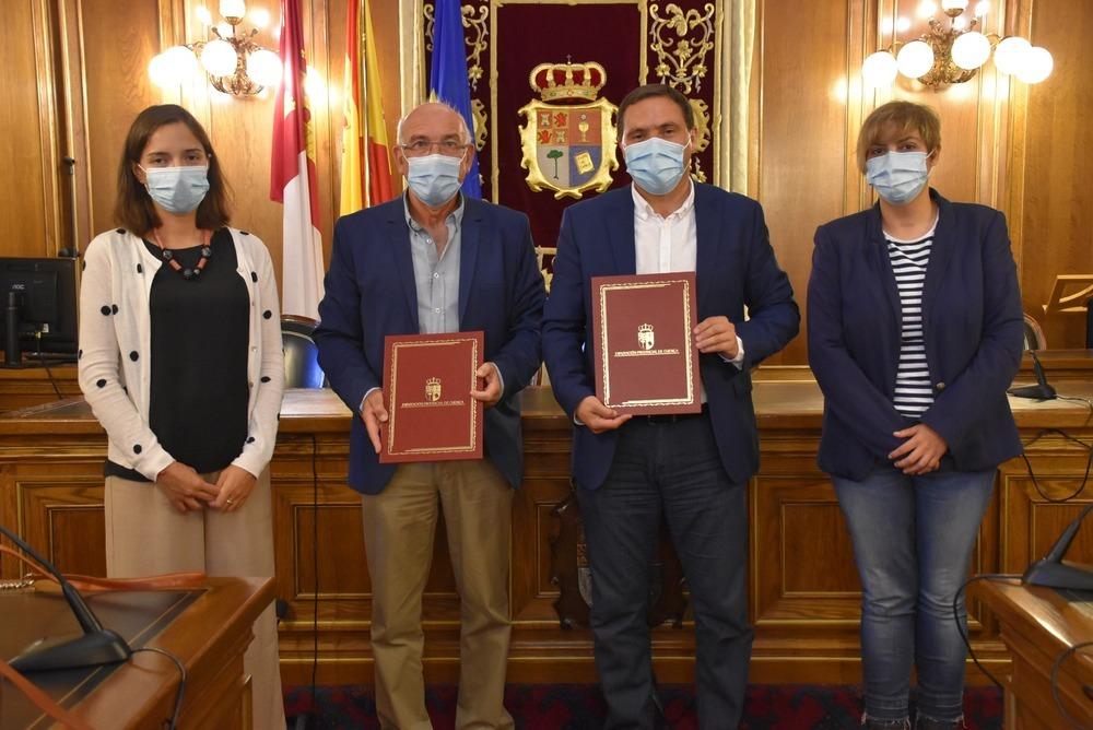 La Diputación aporta 30.000 euros al convenio con Cáritas