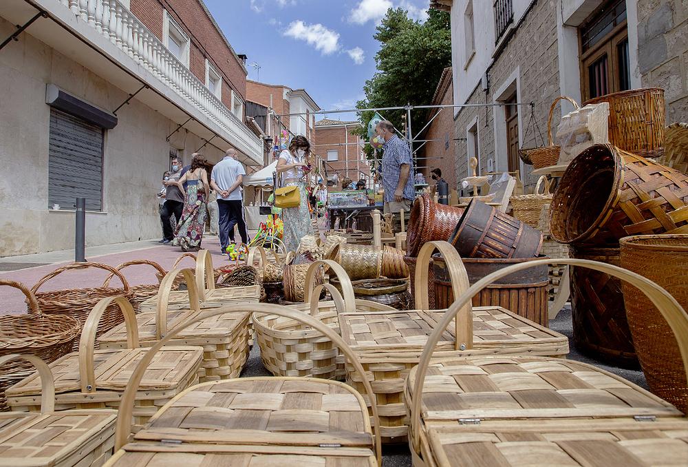 Haciendo comarca en la X Feria Buen Rato en el Cerrato