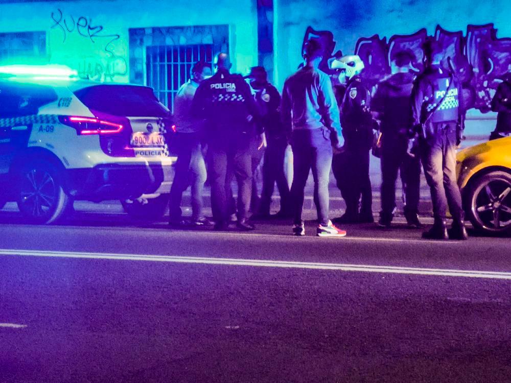 Un momento de las detenciones