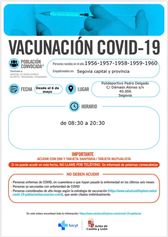 Sanidad lanza nuevas convocatorias para la vacunación masiva