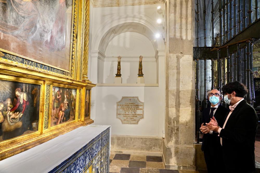 Presentación de la intervención realizada en la capilla de los Gallo Andrada de la iglesia de El Salvador, en Simancas (Valladolid)