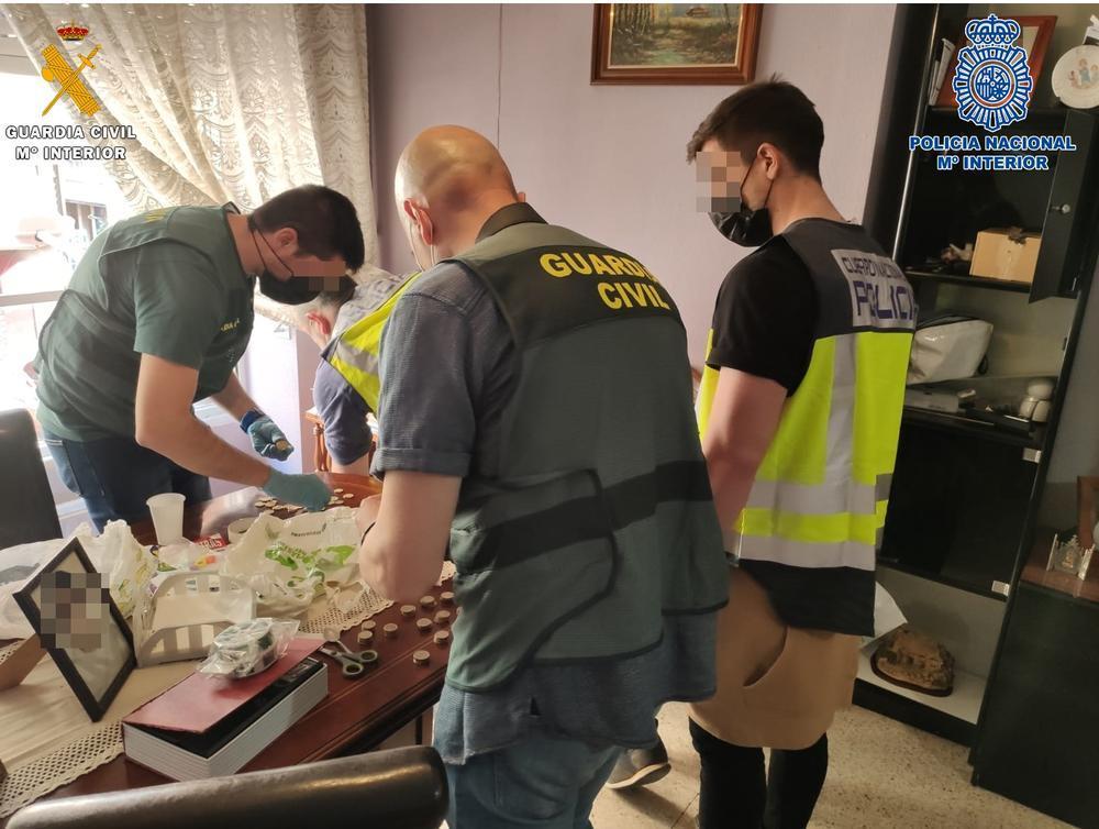 Cuatro detenidos por distribuir droga en Palencia