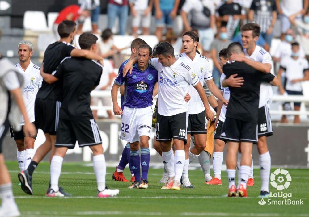 El Real Valladolid salió derrotado de Burgos.