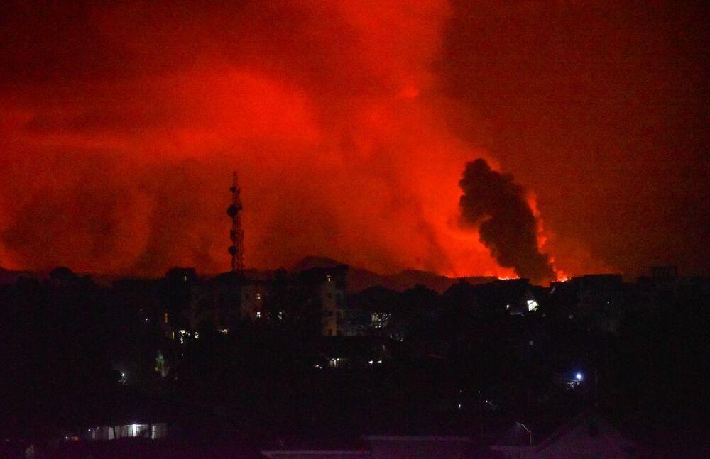 15 muertos por la erupción del volcán Nyiragongo en el Congo