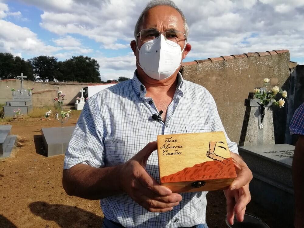 Recuperan en León los restos de un represaliado de Chillón