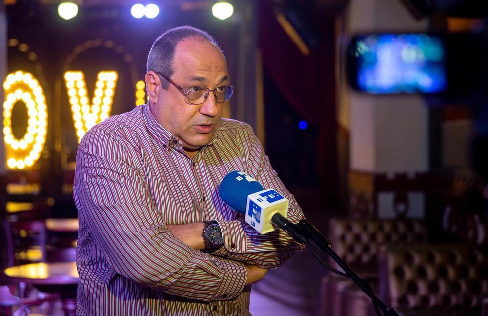 El presidente de la patronal de salas de fiesta y discotecas, Antonio Cendra